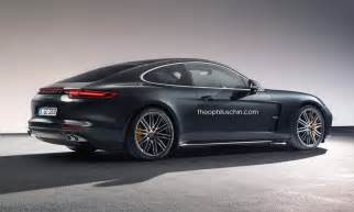 Two Door Porsche Panamera New Porsche Panamera Coupe Rendered As Modern Day 928