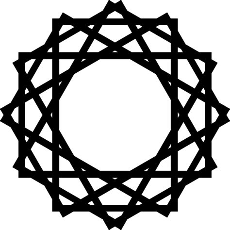 simple islamic pattern vector islamic vector octagon design clip art at clker com