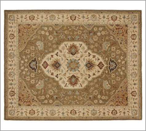 New Pottery Barn Handmade Persian Hayden Area Rug 5x8 Pottery Barn Rugs