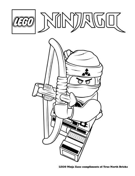 lego ninjago season 5 coloring pages lego colouring page ninja zane true north bricks