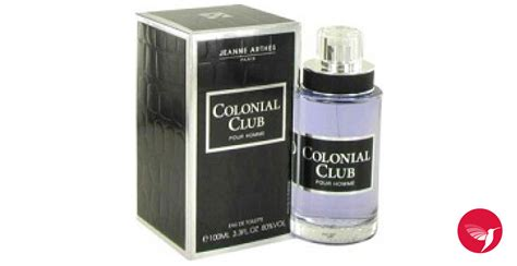 Parfum Original Jeanne Arthes Colonial Club Pour Homme Edt 100ml colonial club jeanne arthes cologne un parfum pour homme