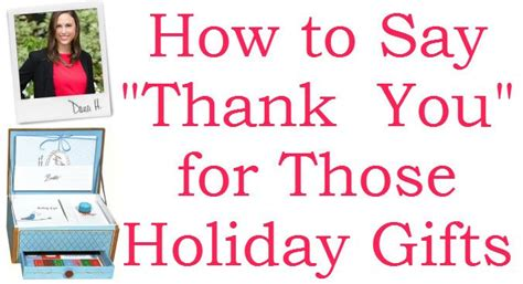 how to say thank you christmas edition