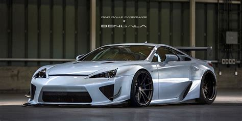 widebody lexus lfa bengala auto design widebody boutique prelaunch gallery