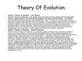 Charles Darwin Theory Of Evolution Essay by Charles Darwin Essay