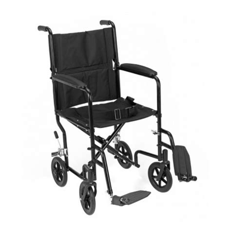 Transport Chair Reviews by Revolution Mobility Transport Wheelchair Mmc 406 17 Bk