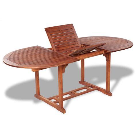 tavolo estendibile articoli per vidaxl tavolo da esterno estendibile in legno