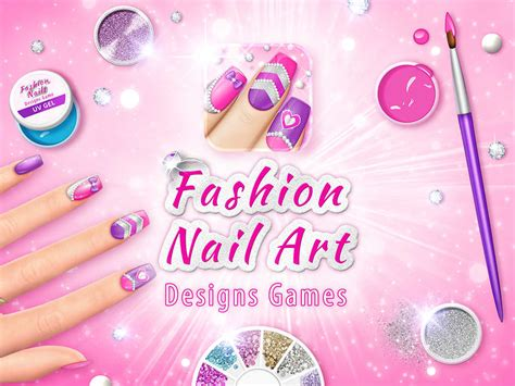 app shopper fashion nail art designs game pink nails