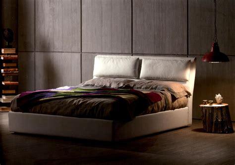 a letto letto klaren matrimoniale imbottito con contenitore