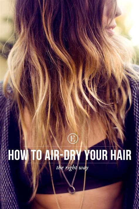 Hair Dryer Air Bubbles hair 101 the right way to air your hair