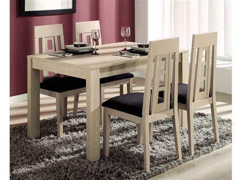 comedor  mesa  sillas de diseno modelo extensible