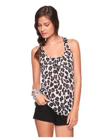 Forever 21 Tank Top Salur tank top forever 21 shirts shorts quot cheetah print quot by