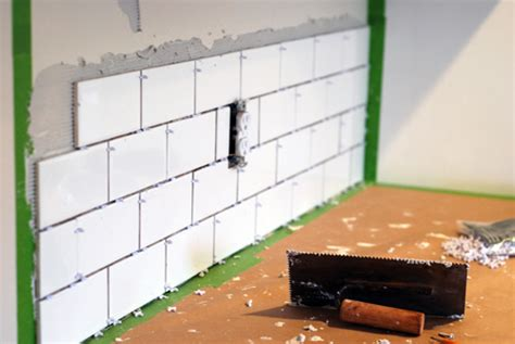 how to install subway tile kitchen backsplash kitchen makeover diy kitchen backsplash subway tile