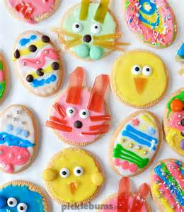 Kids Birthday Decoration Ideas At Home the easiest easter cookies ever picklebums