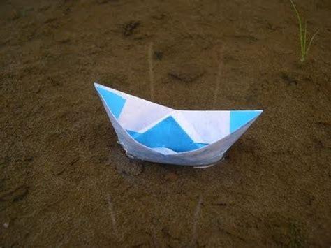 Origami Fishing Boat - origami boat