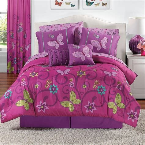 girls pink comforter set teenage bedding sets full spillo caves