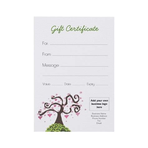 make your own business gift cards 33 best images about gift vouchers on gift