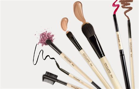 Make Up Oriflime professional precision makeup brushes oriflame cosmetics