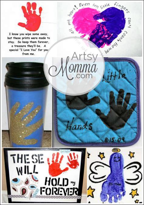 christmas crafts for grandparents 6 last minute grandparent s day ideas handprint