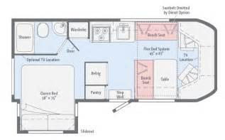 winnebago fuse class c ford transit motor home class c motorhomes floor plans friv5games me