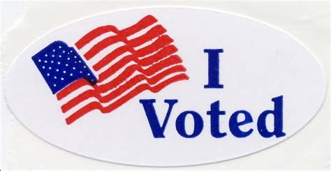printable voting stickers if you didn t get an quot i voted quot sticker does your vote
