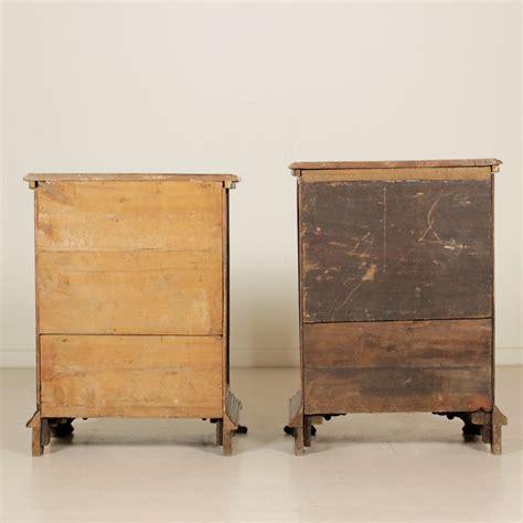 coppia comodini antichi coppia di comodini legni antichi mobili in stile