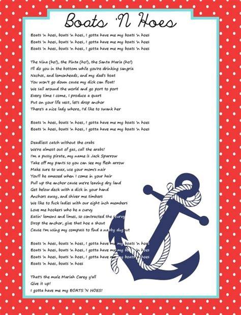 boats n hoes lyrics full version boats n hoes lyrics boats n hoes bachelorette party