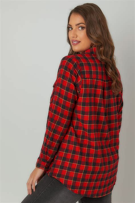 La Senza Chemise Size Xs 1 collection limit 201 e chemise 224 carreaux avec deux poches poitrine grandes tailles 16 224 32