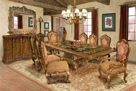 American Drew Dining Room Set by Bt 039 Traditional Glass Top Dining Set Classic Dining