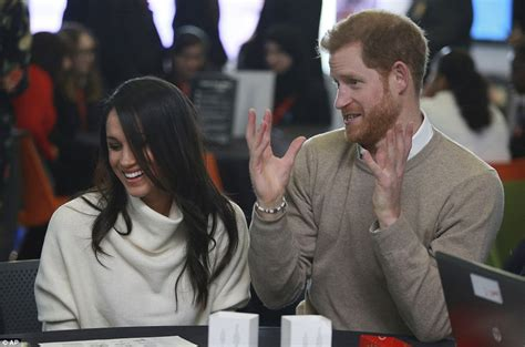 prince harry and meghan markle attend education event in