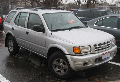 old car manuals online 1999 isuzu rodeo seat position control isuzu rodeo 3 2 1999 auto images and specification