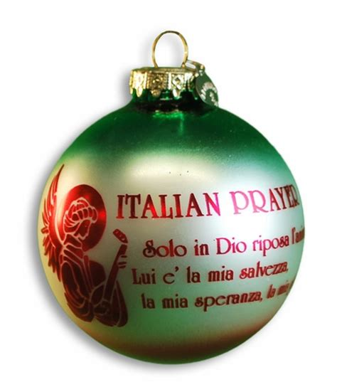 invocation christmas decorations italian prayer ornament on sale 10 95 guido gear italian store