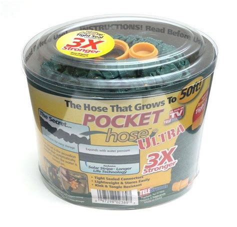 Garden Hose Infomercial As Seen On Tv Pocket Hose Ultra Garden Hose Review