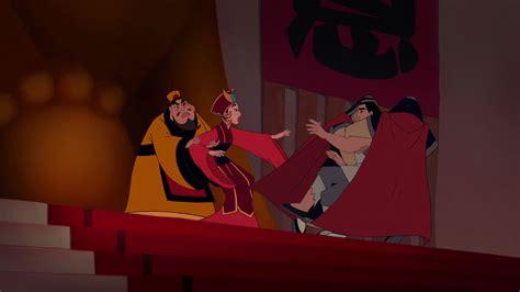 Mulan marriage scene