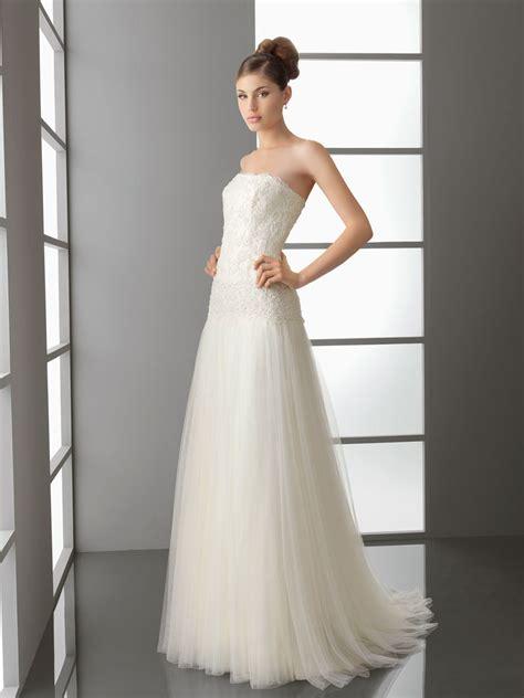 bild galeria simple wedding dress