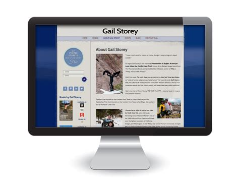 wordpress site layout customizer custom graphic design wordpress website for gail storey
