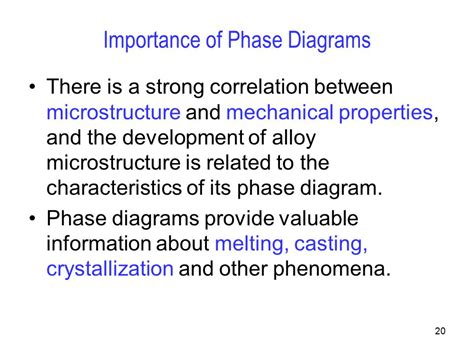 importance of phase diagram phase diagrams chapter ppt