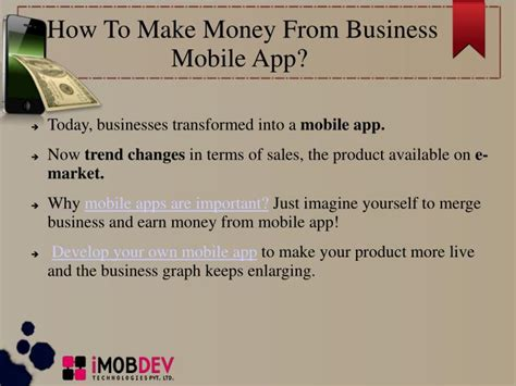 How To Make Money With Earn Market Yourself ppt how common business mobile apps make money
