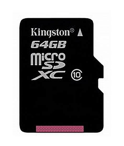 Mmc Memory Micro Sd Kingston 8 Gb kingston 64 gb micro sd card class 10 memory card buy kingston 64 gb micro sd card class 10