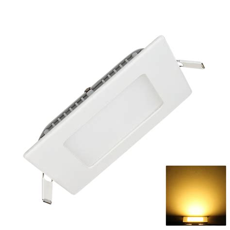 Square Led Panel Light Recessed Kitchen Bathroom Wall Recessed Bathroom Lights