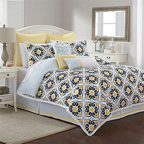 southern tide bedding buy southern tide savannah twin comforter set in lemon from bed bath beyond