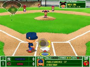 Backyard Baseball Hacked Backyard Baseball Screenshots Hooked Gamers