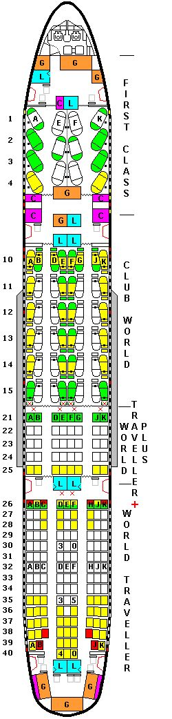 ba 777 seat map airways boeing 777 seating chart memes