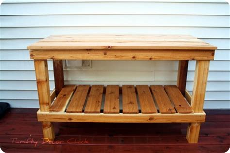 potters benches diy potting bench decohubs potters bench treenovation
