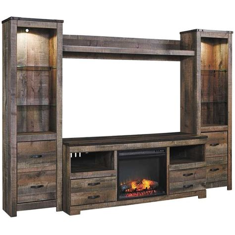 Wall Units With Fireplace And Tv by Best 25 Electric Fireplace Media Center Ideas On Tv Stand Unit Cabinet Build In