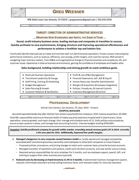 example one page cv cute resume in one page sample free career