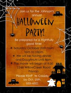 5 marvelous halloween party invitation templates free
