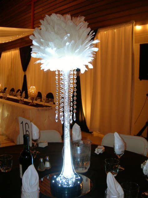 white 16 inch large feather balls for centerpieces 1 piece