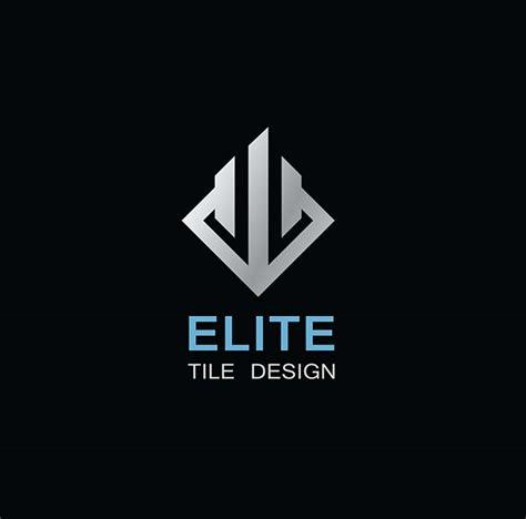 exactitude design graphic e lit elite tile design logo design red deer ab on behance