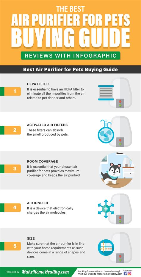 best air purifier for pets buying guide reviews with infographic make home healthy