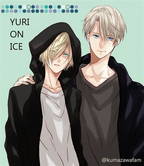 Hoodie Yuri On Victor Nikiforov 1 yuri on 2050665 zerochan